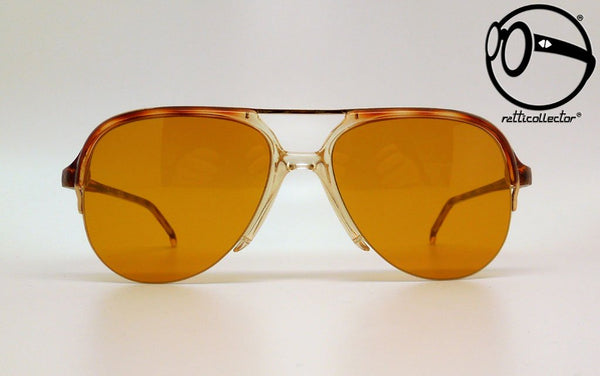 essilor les lunettes michigan 62 850 vm jaspe brun 131 brw 80s Vintage sunglasses no retro frames glass
