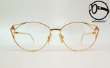 atelier 9032 col am gold plated 22kt 80s Vintage eyeglasses no retro frames glasses
