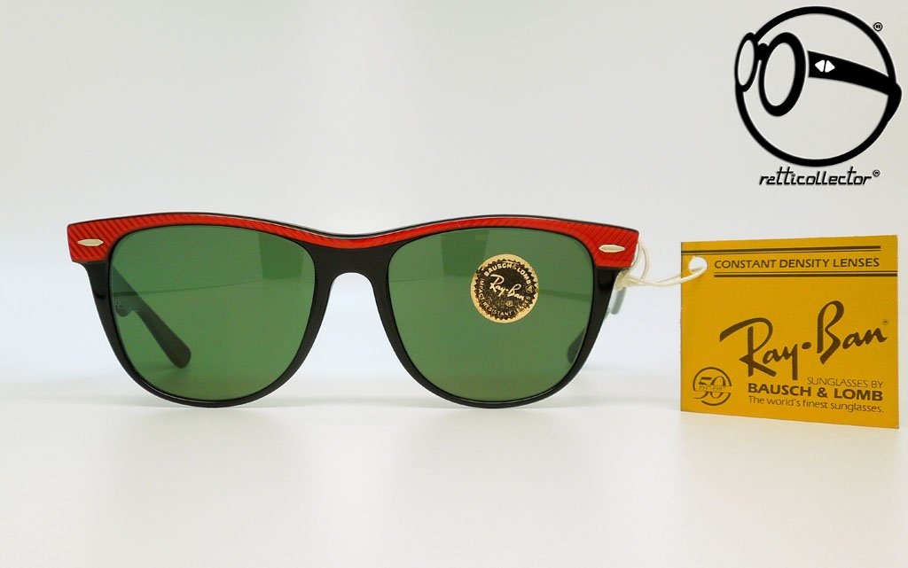4a3c435e87c ray ban b l wayfarer ii street neat w0492 g 15 copped red ebony 80s Vintage  sunglasses
