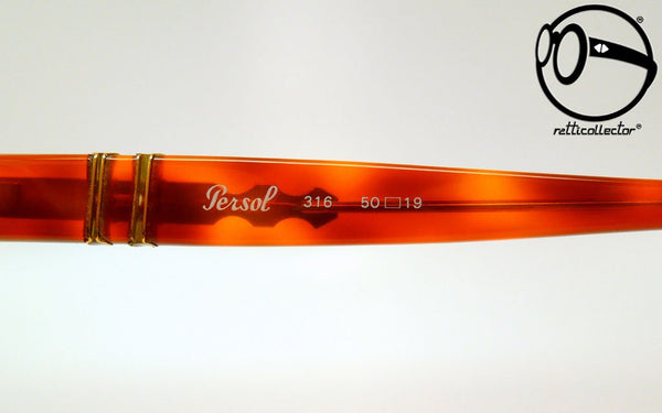 persol ratti 316 41 meflecto brw 80s Original vintage frame for man and woman, aviable in our store