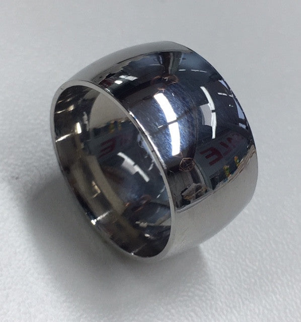 Stainless Steel Plain Ring