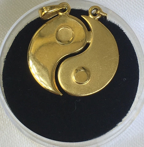 9Ct Yellow Gold Ying/Yang Charm