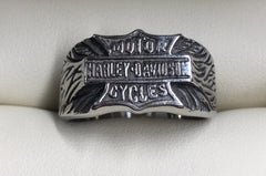 Stainless Steel Harley Davidson Ring
