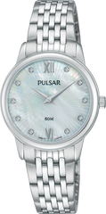 PULSAR PM2203X LADIES MOTHER OF PEARL DIAL WATCH