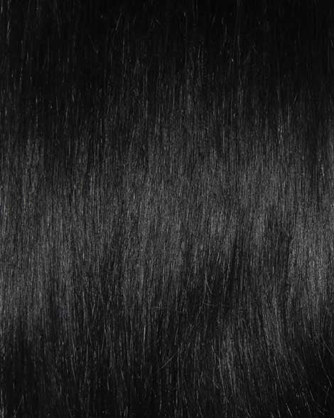 #1 Jet Black Clip In Hair Extensions; 20 inch, 115g