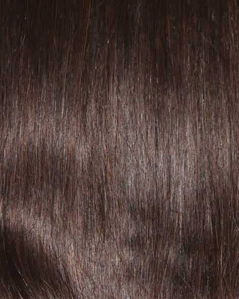 #2 Dark Brown Clip In Hair Extensions; 20 inch, 175g