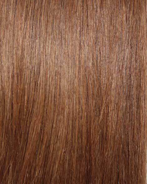 #6 Light Brown Clip In Hair Extensions; 20 inch, 115g