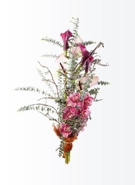 A long-stemmed bouquet