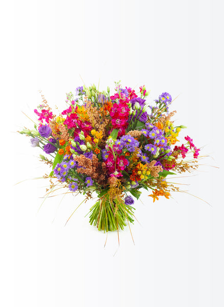 Organic fields flower bouquet