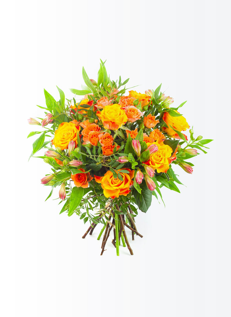 Sunny orange bouquet