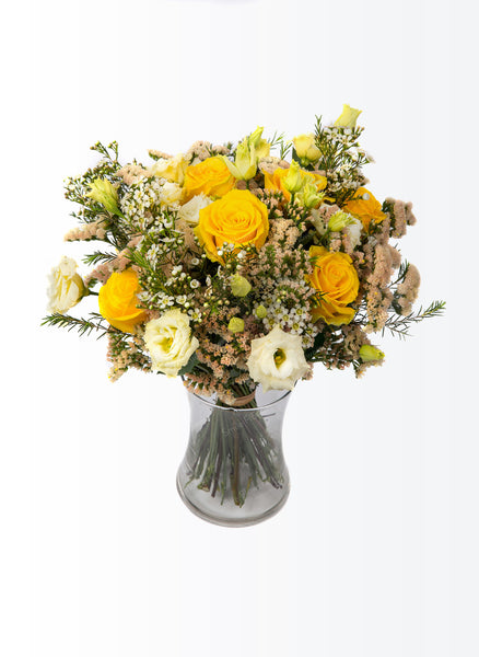 Yellow summer bouquet