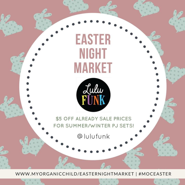 Online Easter Night Market Special!