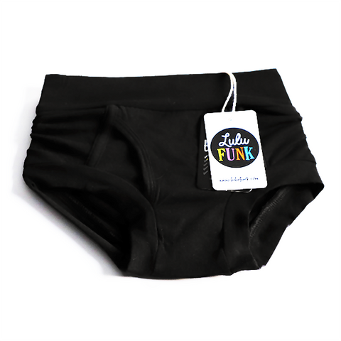 Boys Bamboo & Organic Cotton Underwear - Black
