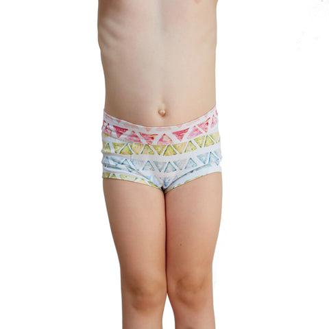Girls Bamboo & Organic Cotton Underwear - Kaleidoscope