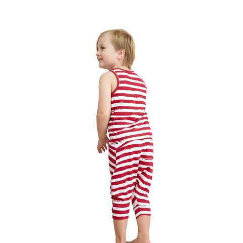 Bamboo & Organic Cotton Sleepwear - Distressed Stripe