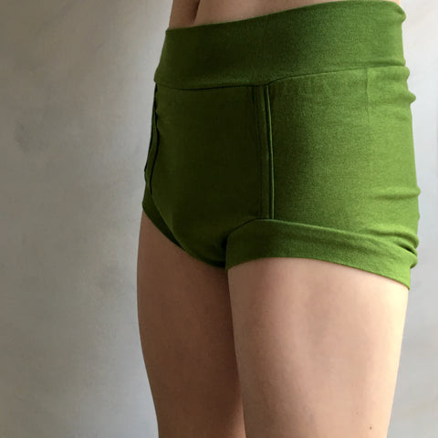 Boys Bamboo & Organic Cotton Underwear - Moss