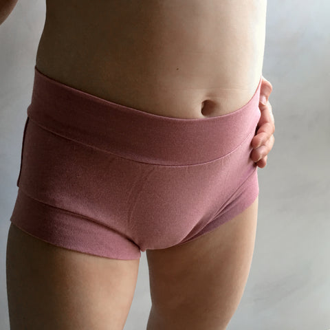 Girls Bamboo & Organic Cotton Underwear - Blush
