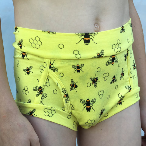 Boys Bamboo & Organic Cotton Underwear - Save the Bees