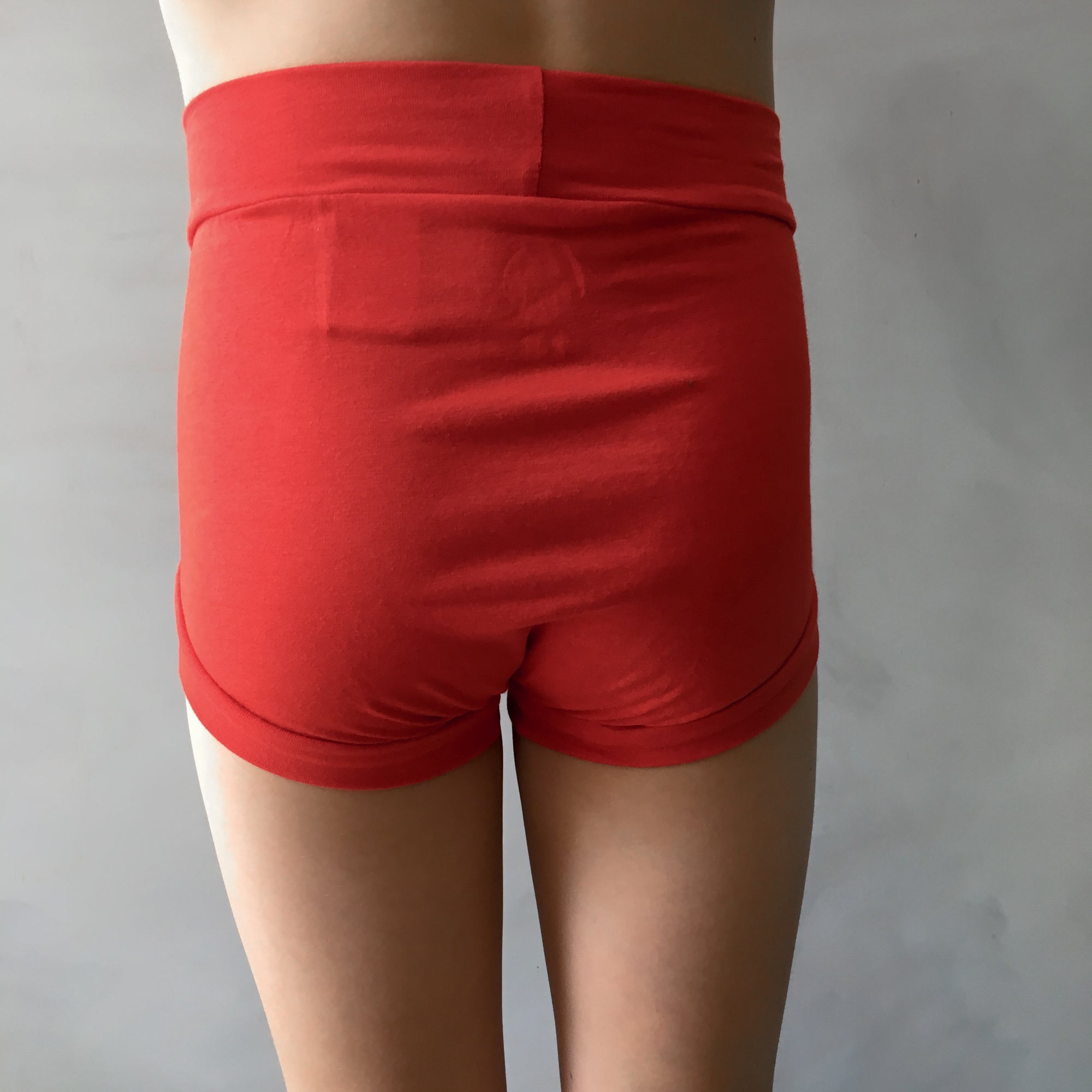 Boys Bamboo & Organic Cotton Underwear - Flame Red (size 2 only)