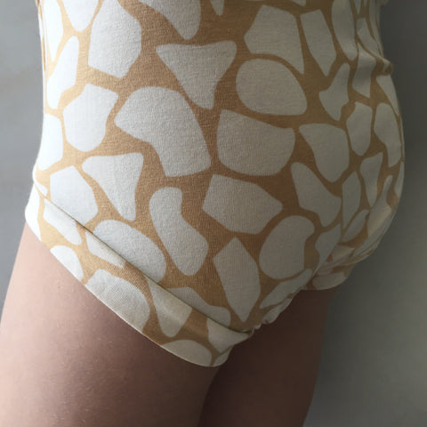 SIZE 2 ONLY Girls Bamboo & Organic Cotton Underwear - Giraffe