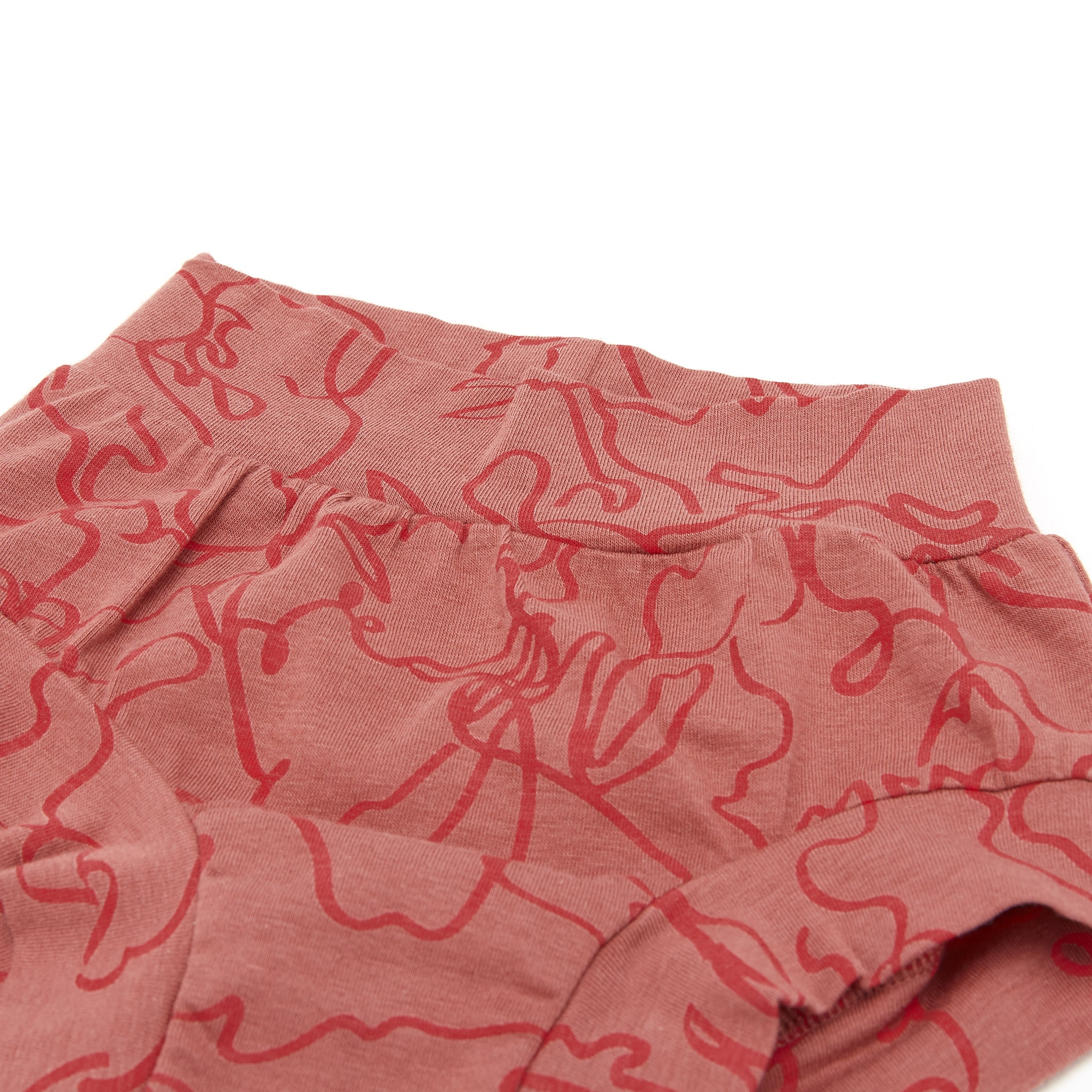 Bamboo & Organic Cotton Kids Underwear Brief - Squiggle