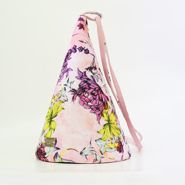 Lizard Printed Cone Bag