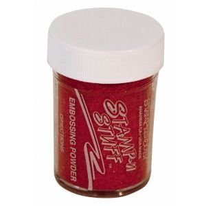 Stampendous Tinsel Embossing Powder - Red
