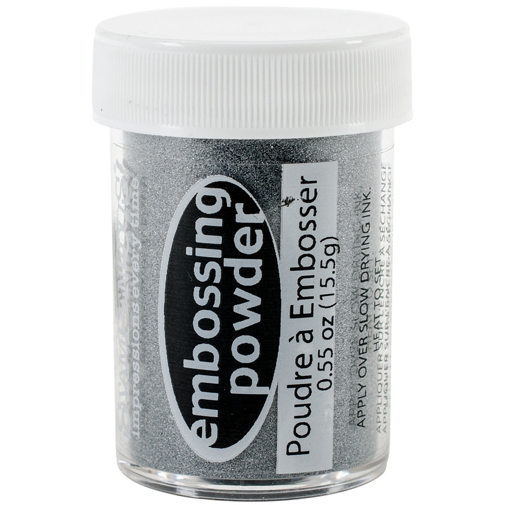 Embossing Powder - Detail silver