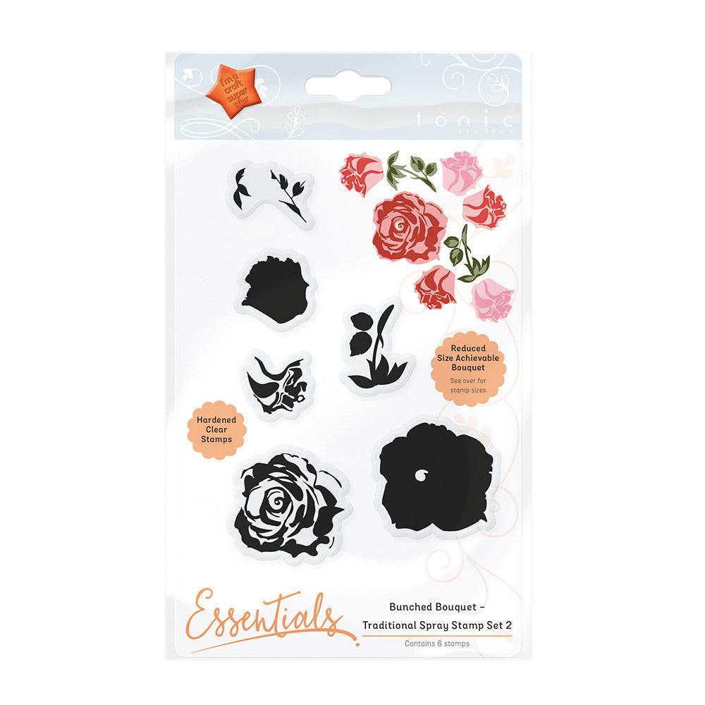 BUNCHED BOUQUET - TRADITIONAL SPRAY STAMP SET 2