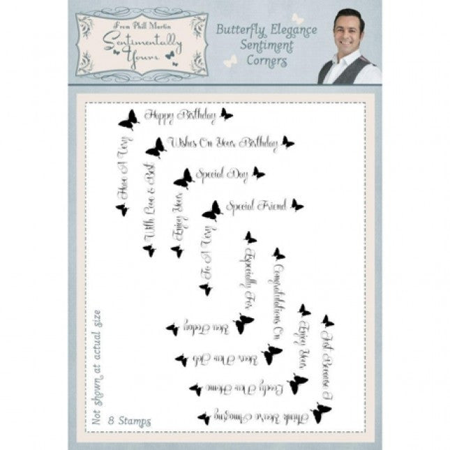 Butterfly Elegance   - Stamps