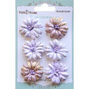 Boutique Paper Flowers - Daisies Lilac