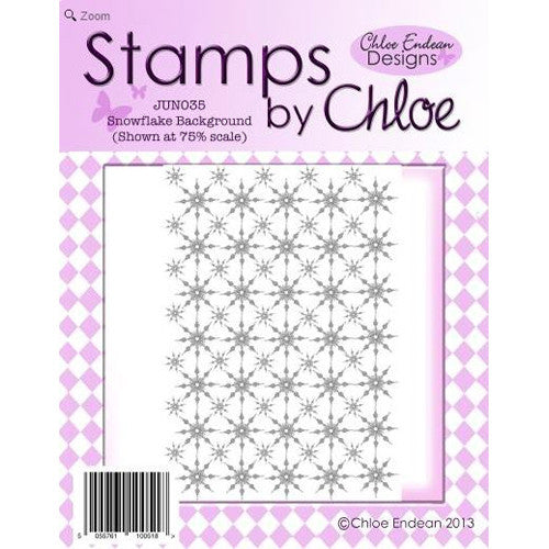 Stamps By Chloe - Snowflake Background