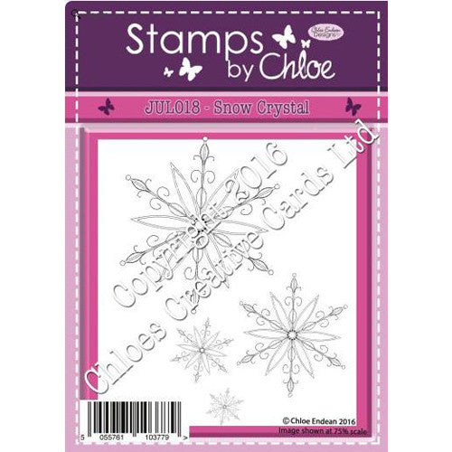 Stamps By Chloe - Snow Crystals Stamp