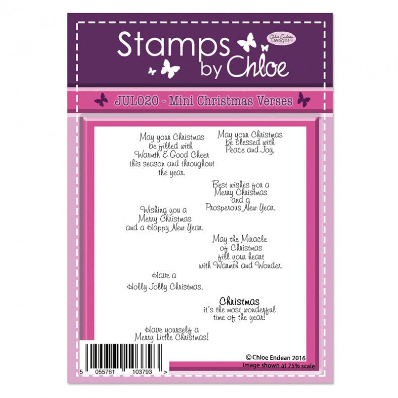 Stamps - Stamps By Chloe - Christmas Mini Verses