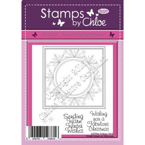 Stamps By Chloe - Snow frame