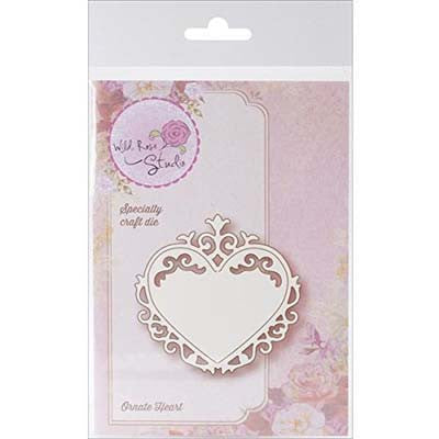 Wild Rose Studio Specialty Die, Ornate Heart