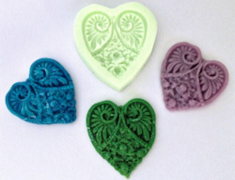 Ornate Heart mould