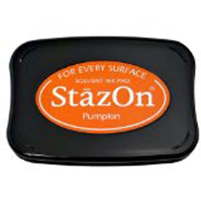 Tsukineko Stazon Stamp Pad, Orange