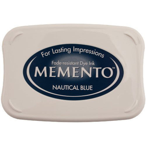 Memento Ink Pads - Nautical Blue