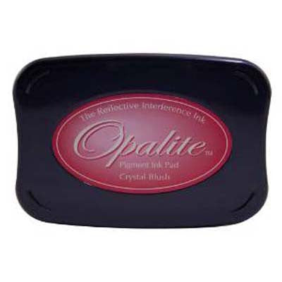 Opalite Pigment Ink Pad - Crystal Blush