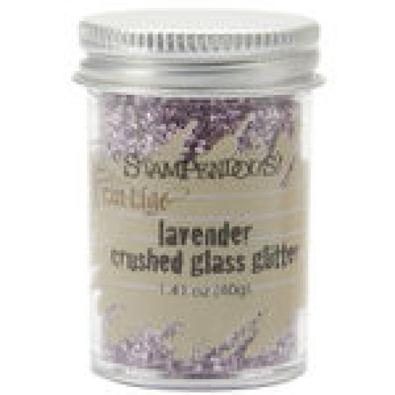 Crushed Glass Glitter - Lavender