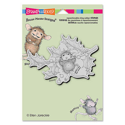 House Mouse Stamp - Chin Up Stamp