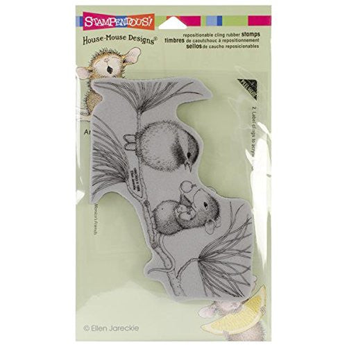 Stampendous House Mouse Cling Rubber Stamp 4-inch X 6-inch Sheet-berrying Gifts