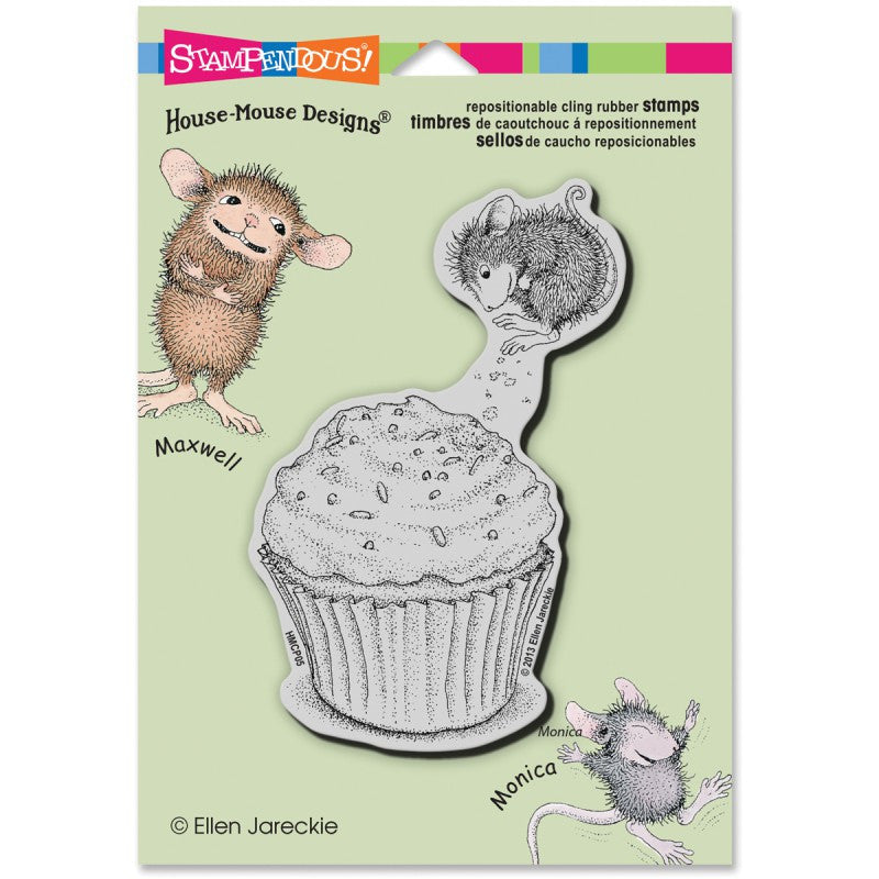 House Mouse Stamp - Cupcake Jump