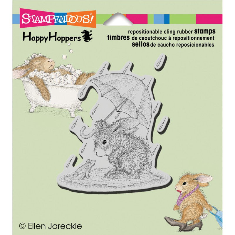 Happy hoppers Stamp - Puddle Fun