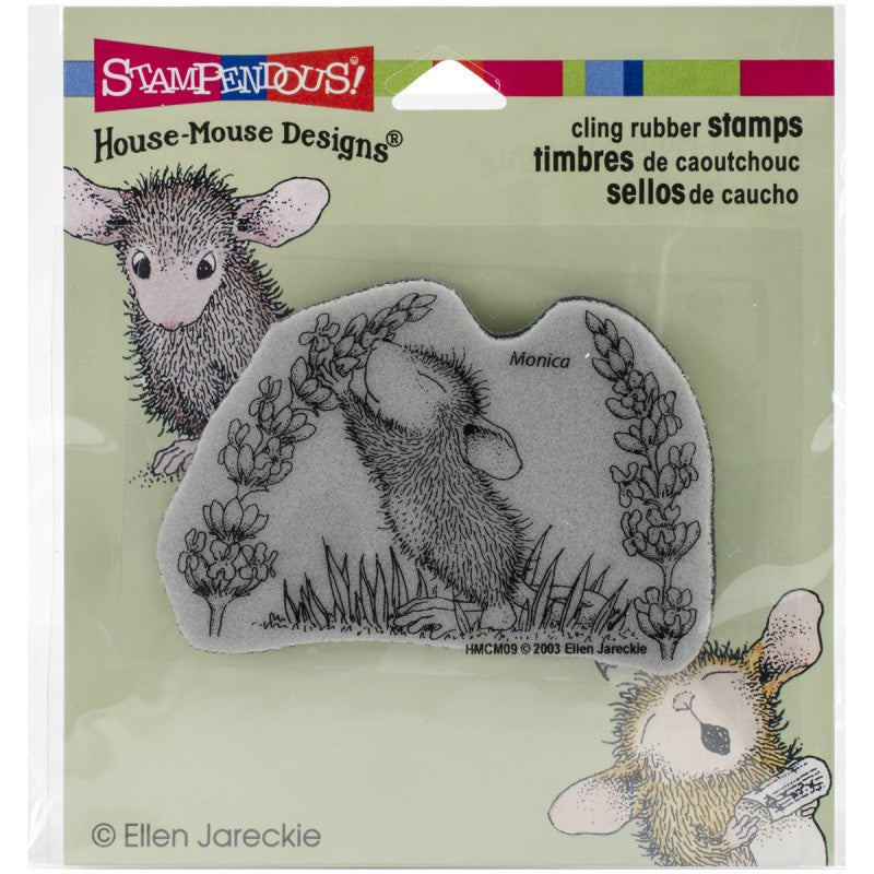 House mouse Stamp - Scent of lilac