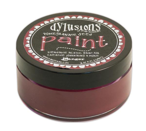 Dylusions Paint Pomergranate