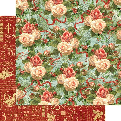 Graphic45 - Christmas Rose