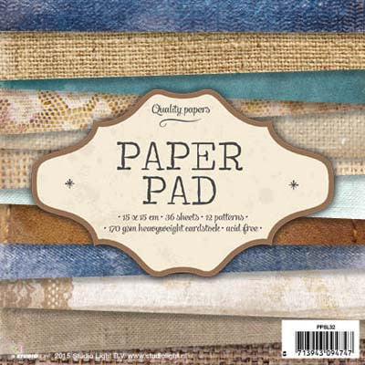 Studio Light Paper Pad 32, 6 X 6-inch