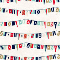 "Ahoy There Double-sided Cardstock 12""x12""-ship Flags"